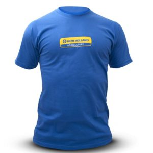 T-shirt blu tg XL New Holland cod 3127930