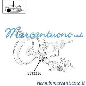 Albero ruota tendicingolo New Holland cod 5193316