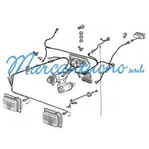 Cavo elettrico New Holland cod 44908711