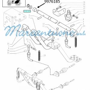 Boccola pedali comando freni New Holland -cod 9976185