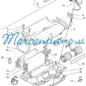 Potenziometro condizionatore New Holland cod 47132038