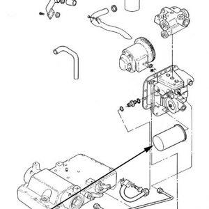 Filtro olio idraulico New Holland - cod 81868072