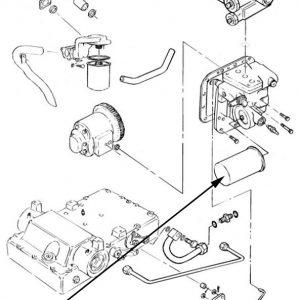 Filtro olio idraulico New Holland - cod 83958902
