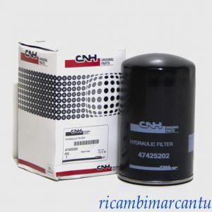 Filtro olio idraulico New Holland cod 47425202