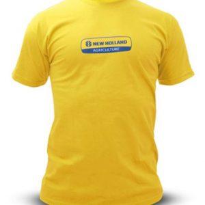 T-shirt gialla tg xl New Holland cod 3127967