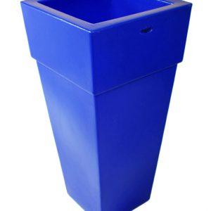 Vaso piramidale colore blu mirtillo cod MA5CBM