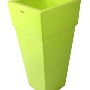 Vaso piramidale colore verde pistacchio cod MA5CPI