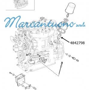 Connettore idraulico New Holland cod 4842798