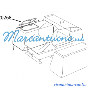 Coperchio New Holland cod 5120268
