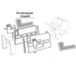 Decalcomania New Holland cod 5106699