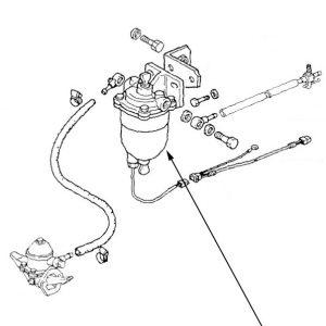 Filtro combustibile New Holland cod 5129552