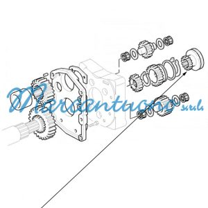 Manicotto inversore meccanico New Holland cod 5125603