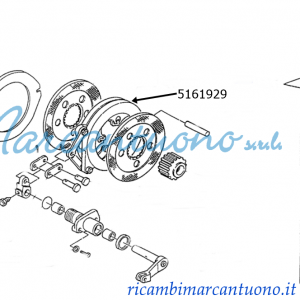 Attuatore New Holland cod 5161929