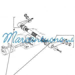 Braccio di sollevamento New Holland cod 5161887