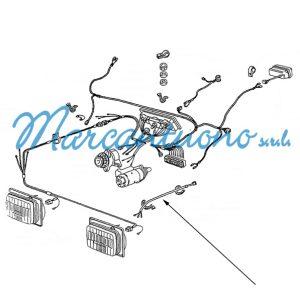 Cavo elettrico New Holland cod 44906729