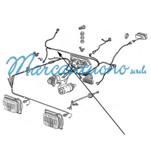 Cavo elettrico New Holland cod 44908710