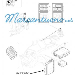 Centralina elettronica New Holland - cod 47130660