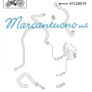 Connettore idraulico New Holland - cod 47128974
