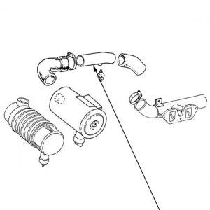 Tubo rigido filtro aria New Holland cod 44904281