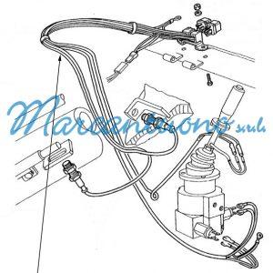Cavo elettrico New Holland cod 76012566