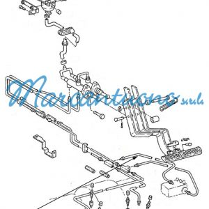Tubo idraulico freni New Holland cod 81870040