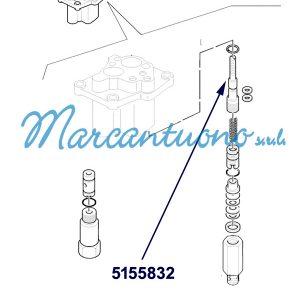 ALT='Perno valvola distributore sollevatore cod 5155832'
