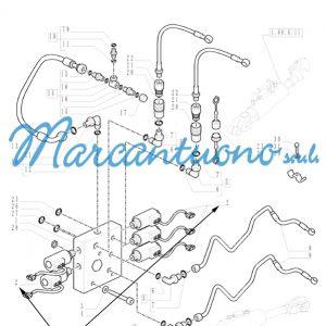 Solenoide braccio di sollevamento New Holland cod 47123023