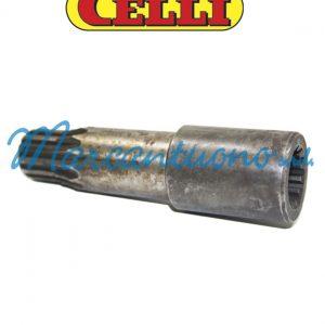 Albero coll pompa HF cambio Celli cod 323646