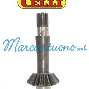 Albero pignone Z15 E Celli cod 422502