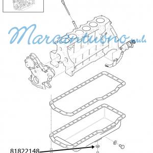Guarnizione coppa olio motore New Holland - cod 81822148