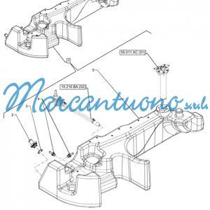 Serbatoio carburante New Holland cod 47516309