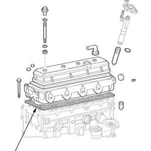 Serie guarnizioni motore New Holland cod 98456216