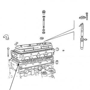 Serie guarnizioni motore New Holland cod 98472008