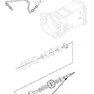 Valvola idraulica cambio New Holland cod 81866604