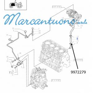 Anello tubaz. olio motore New Holland -cod 9972279