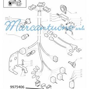 Interruttore cruscotto New Holland -cod 9975406