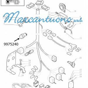 Interruttore impianto elettrico New Holland -cod 9975240