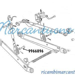 Perno attacco attrezzi new Holland -cod 9966896
