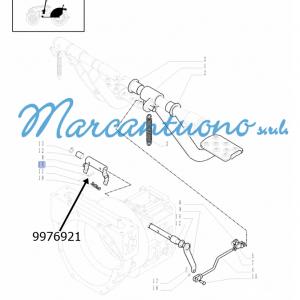 Perno di guida pedali comandi frizione e relativi leverismi New Holland - cod 9976921