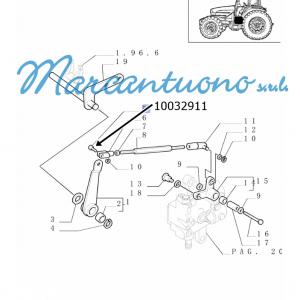 Perno trasmissione cambio New Holland -cod 10032911