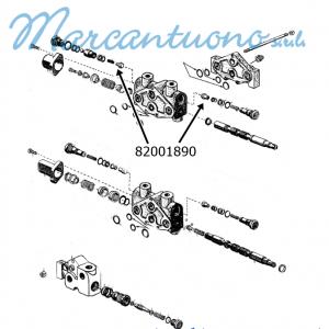 Pistoncino coperchio serbatoio cambio New Holland -cod 82001890
