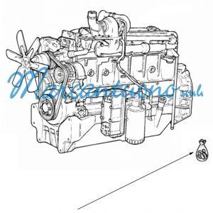 Serie guarnizioni rettifica valvole motore New Holland cod 1940003