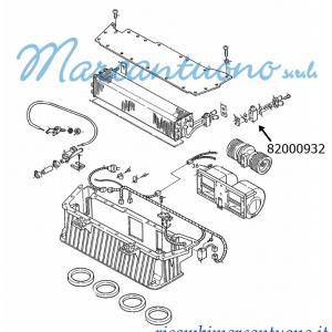 Valvola espansione aria condizionata New Holland -cod 82000932