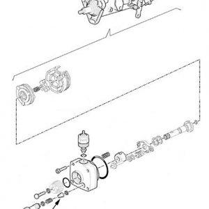 Valvola idraulica pompa iniez. New Holland cod 9967570