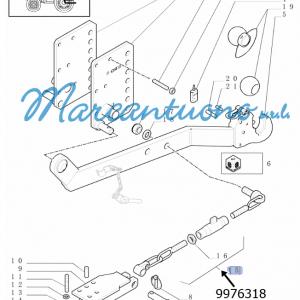 Catene anti scuotimento New Holland -cod 9976318