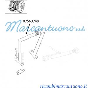 Staffa bloccaggio 3° punto meccanico New Holland - cod 87563740