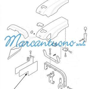 Protezione termica New Holland cod 5175675