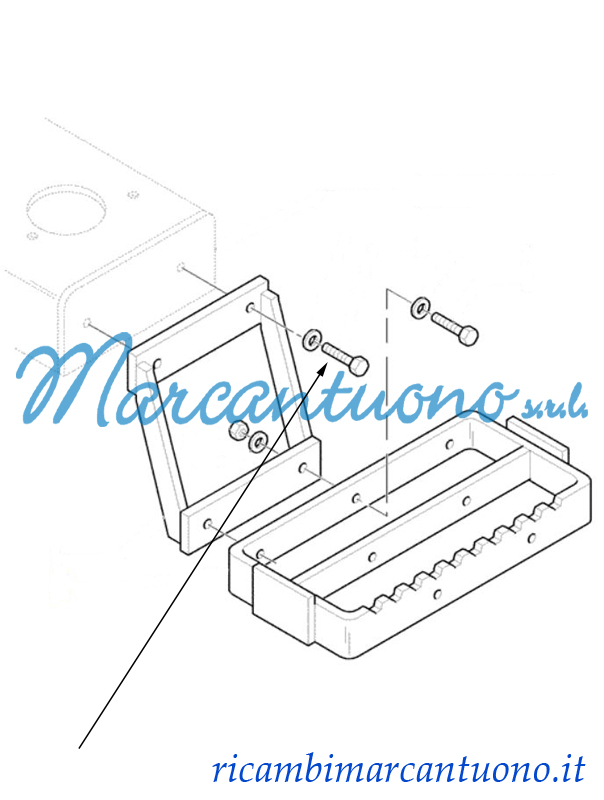 Ricambi Marcantuono: Vite New Holland - cod 16043624 on