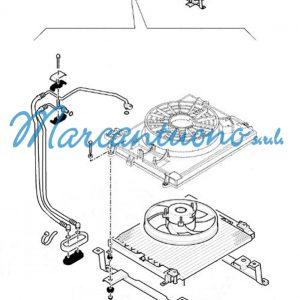 Elettroventilatore aria condizionata 32mm New Holland cod 9971637