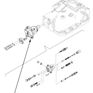 Valvola idraulica sollevatore New Holland cod 84148463